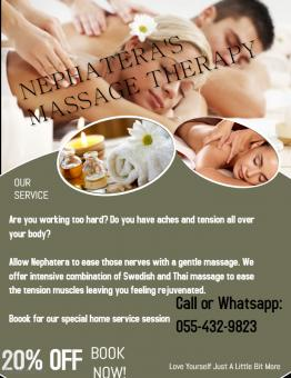 Home Service Professional Massage